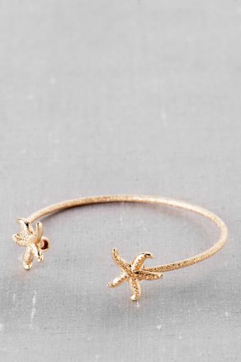 Rockport Starfish Bangle in Gold