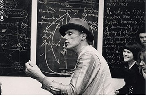 Joseph Beuys - ICA Lecture (1974) [English]  -listen online http://ubu.com/sound/beuys.html  (Joseph Beuys lecture in English: Art into Society - Society into Art (at the ICA, London. May, 1974) [MP3] )