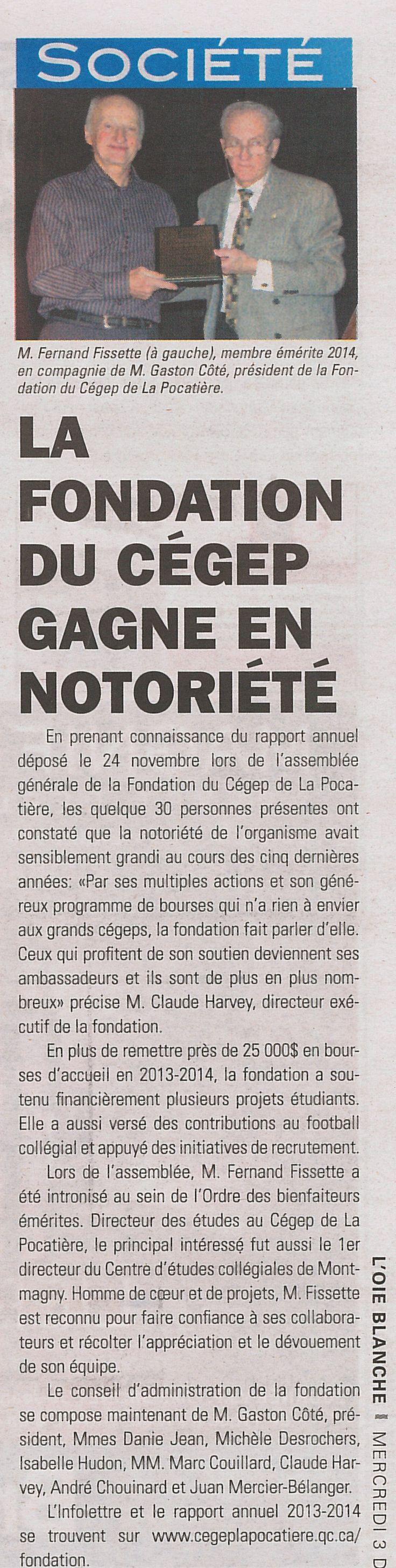 L'Oie blanche - 3 décembre 2014 (p. 13)