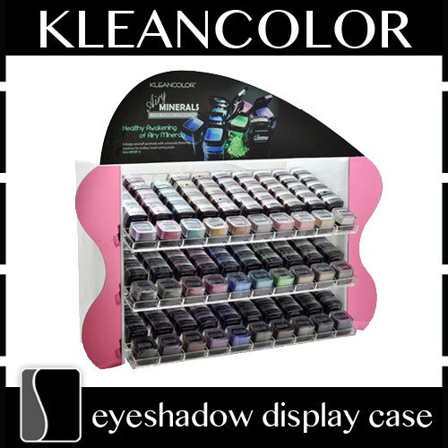 KleanColor Airy Minerals Eyeshadow Display Case Counter Rack Stand 150 Count | eBay