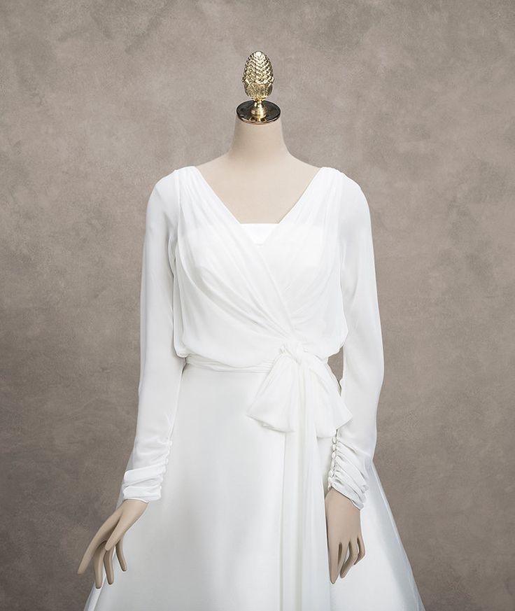 Люкс белый кот куртки болеро с длинным рукавом свадебные болеро шаль свадьба пальто на заказ украл для свадебных платьев(China (Mainland))