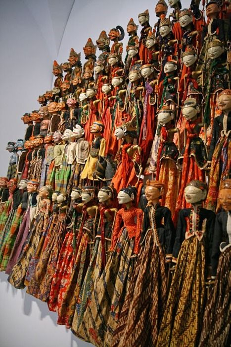 Wayang Golek  Rod puppets, mostly associated with the Sundanese culture of West Java. #PINdonesia