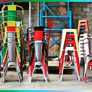 Tolix sandalyeler
