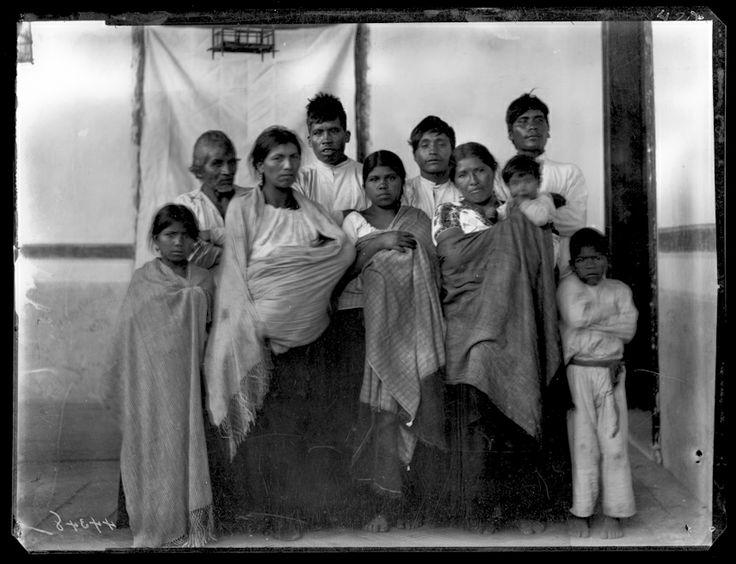 ID: CL2455Tarascan (Purepecha) Indian group portrait, Michoacán, 1896