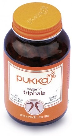 Organic Triphala for digestion & detoxification. Improves blood circulation. Powerful stuff.