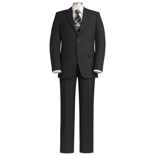 With a modern fit, this simple single-breasted, two-button wool suit separate jacket delivers both superlative style and incomparable comfort.
