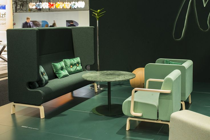 Point easy chair & sofa, design: Fredrik Mattson   Centrum table, design: Sandin & Bülow   Cactus coat stand, design: Jesper Ståhl