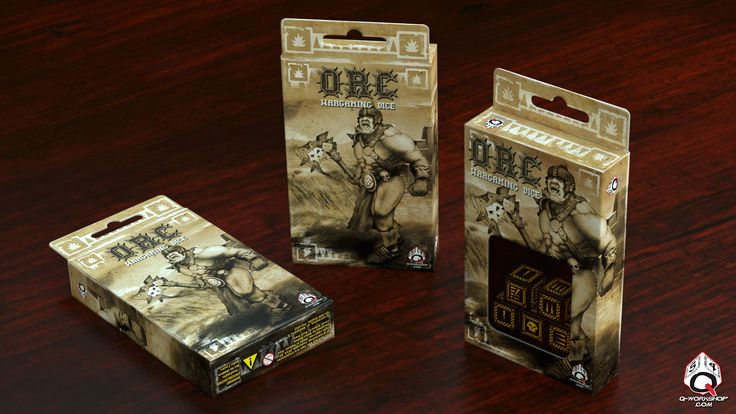 What do you think about our new idea for Orcish wargaming dice box? :)