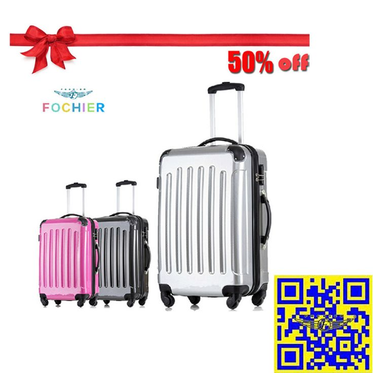 The 2015 largest discount! 12.16—12.31 Christmas sales! All luggage suitcases in E-bay American site with 50% off! Don't miss it!! http://stores.ebay.com/shxq2015 http://www.ebay.com/itm/Hardside-Luggage-Suitcase-20-24-Inches-3-Colors-ABS-PC-With-Floral-Pattern-/252186449484?
