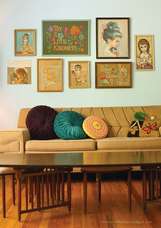 Lovely retro home by Thompson family