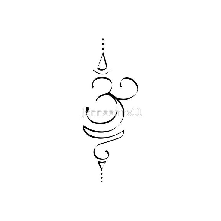 Yoga symbol tattoos