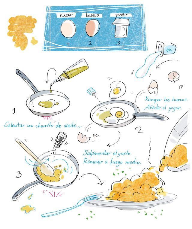 En casa de Tía Gretel: Cartoon Cooking, ilustrando y cocinando