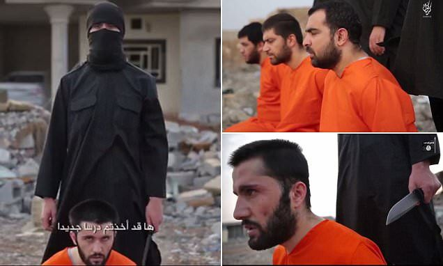 ISIS behead four Peshmerga fighters in 'revenge' for US raid #DailyMail   These are some of the stories. See the rest @ http://twodaysnewstand.weebly.com/mail-onlinecom