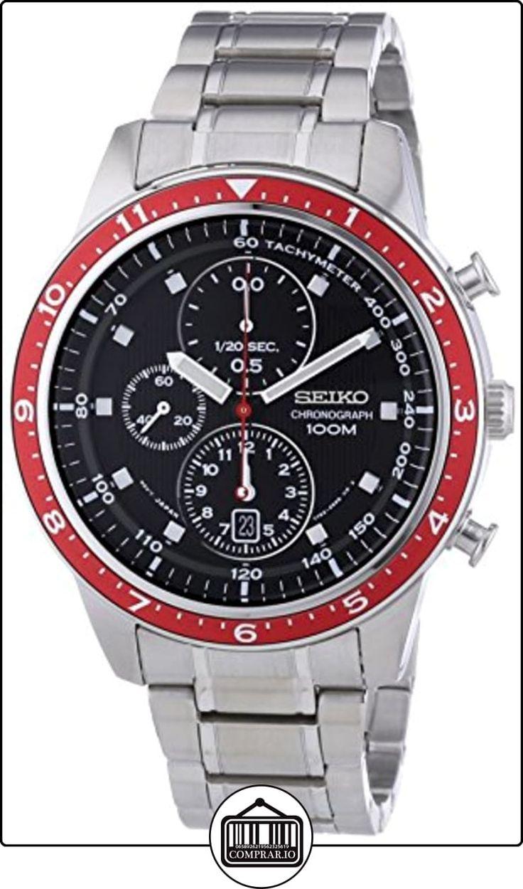 Seiko Reloj De Cuarzo Sndf37p1 Metal 43 Mm De Relojes Para