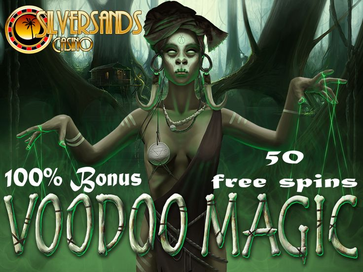 #SilverSandsCasino have launched their #HalloweenPromotion today in line with the release of the all-new 13 line #slot machine #VoodooMagic  They are offering ALL new and existing players 50 Free Spins on this bewitching slot machine by using coupon code:  VD50FS  PLAY NOW : www.onlinecasinobonus.co.za  This promotion is valid until midnight on the 1st of November 2014