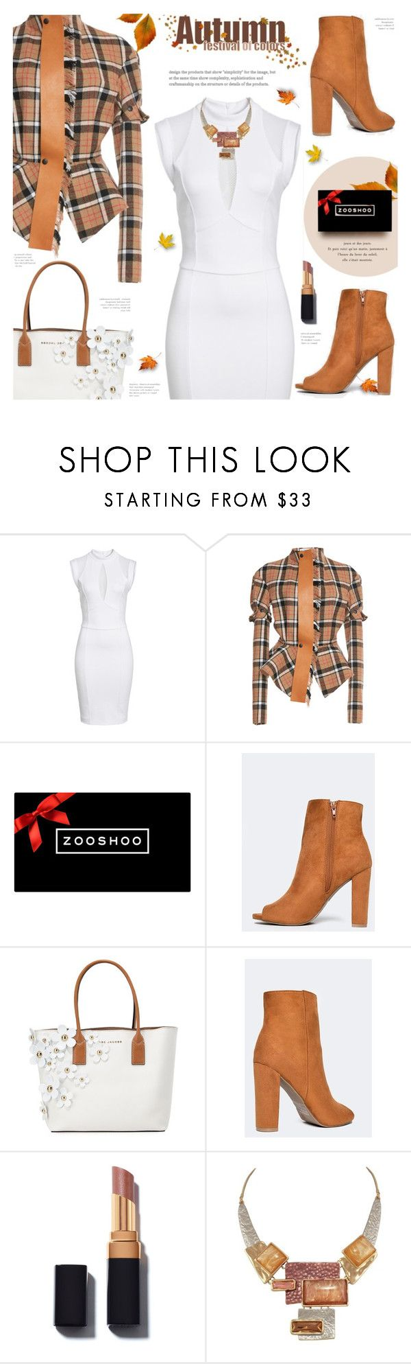 """""""Zooshoo: Winter Ankle Booties"""" by voguebits ❤ liked on Polyvore featuring Sentimental New York, Loewe, Marc Jacobs, Fall, autumn, chicstyle and falltrend"""