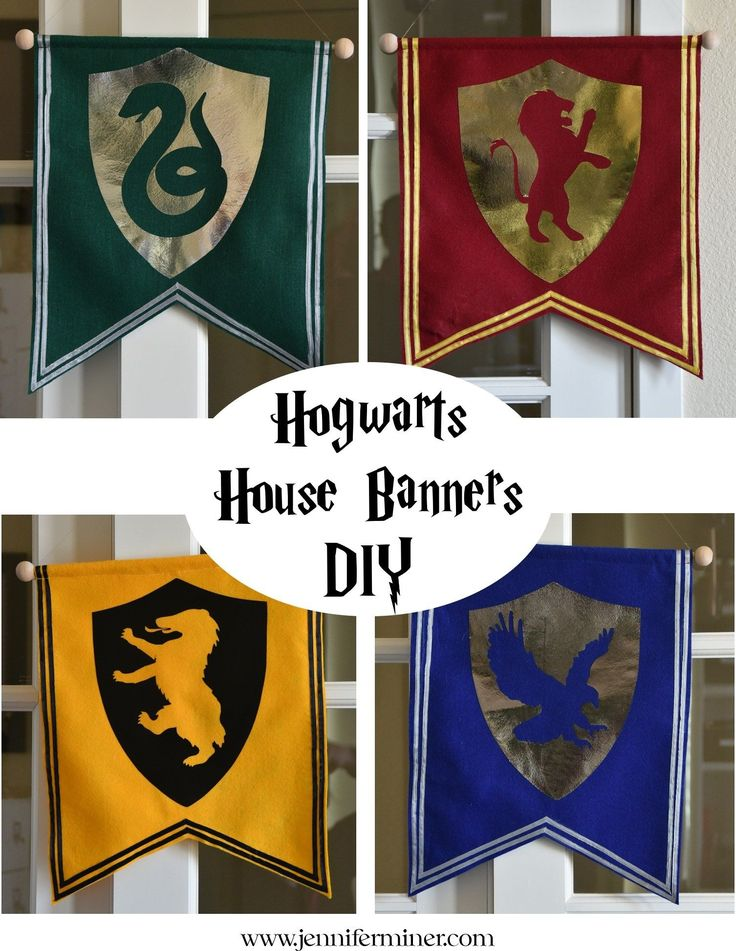 Best 25 harry potter decor ideas on pinterest harry potter diy tutorial on creating simple hogwarts house banners for your next harry potter party solutioingenieria Image collections