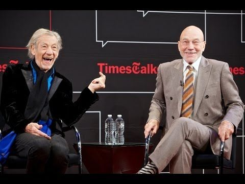 Ian McKellen and Derek Jacobi | Interview | TimesTalks London - YouTube