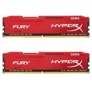 Kingston Technology HyperX FURY Red 32GB 2133MHz DDR4 CL14 DIMM Kit of 2 (HX421C14FRK2/32)