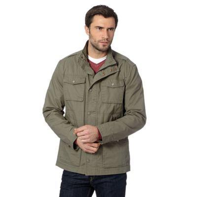 RJR.John Rocha Designer khaki cotton jacket- at Debenhams.com