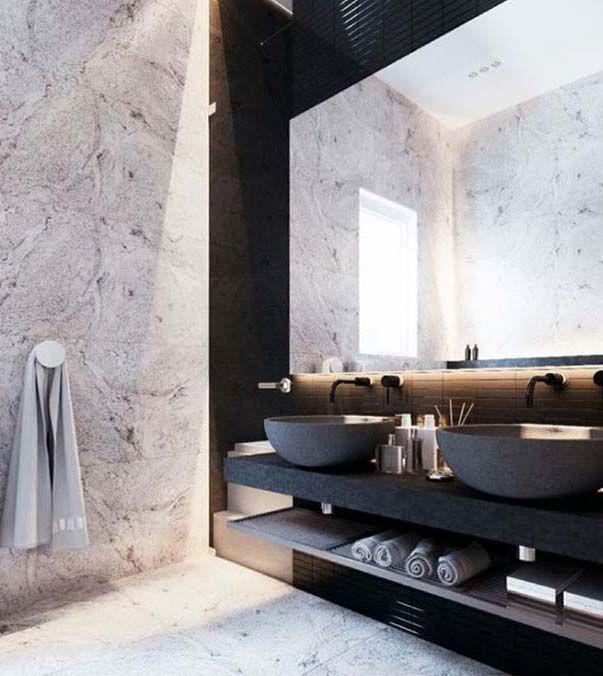 own your morning // bathroom // interior // home decor // urban suite // city…