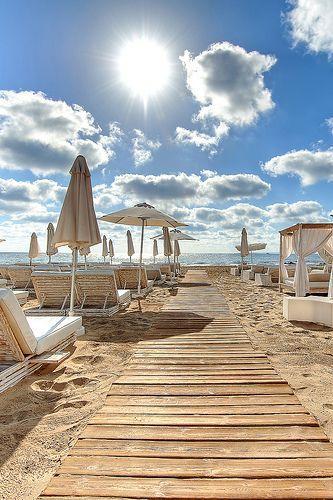 Ushuaia Ibiza Beach Club Restaurant.