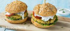 Visburger met dillesaus - Leuke recepten