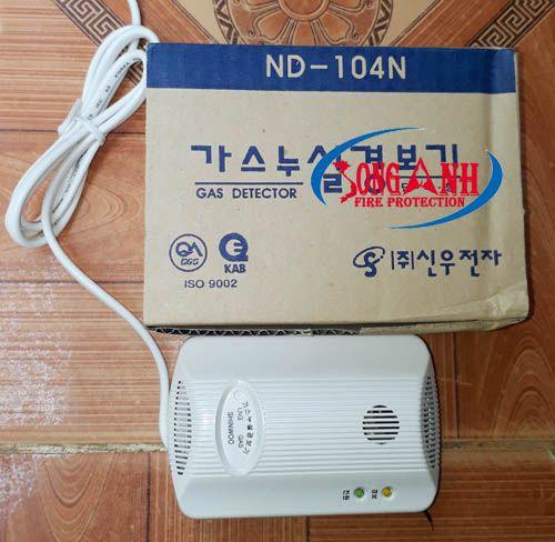 Thiết bị báo dò gas ShinWoo ND-104N được thiết kế để phát hiện ra sự rò rỉ khí gas tại bếp gia đình, nhà hàng, khách sạn…, thông qua việc đo lượng khí gas ở trong không khí, từ đó có những cảnh báo thích hợp với người xung quanh như: Nháy đèn LED liên tục, reo chuông báo động khi lượng gas rò rỉ vượt mức an toàn.
