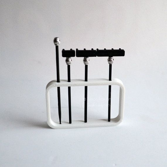 Superior Zen Garden Rake Set // Mini Zen Garden // Miniature By NeonFoxArt