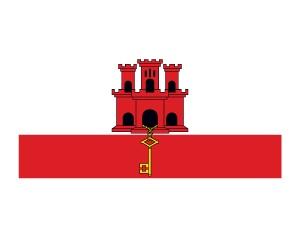 Gibraltar Flag Tattoo #flags #gibraltarflag #temporarytattoos #t4aw
