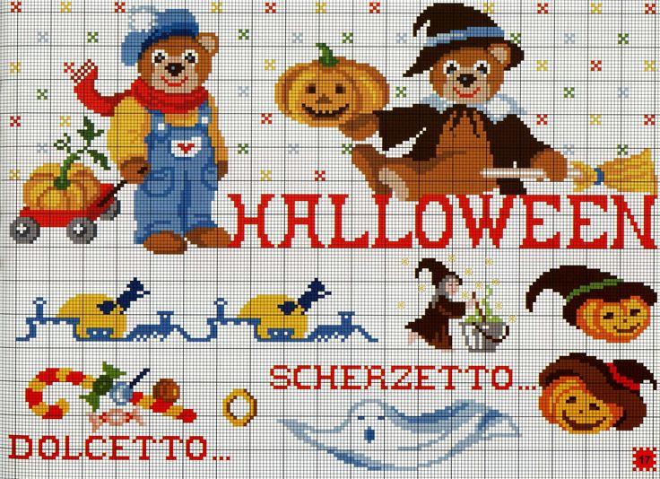 233 besten crafts halloween Bilder auf Pinterest | Punto de cruz ...
