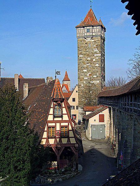 Fancy Germany us Picturesque Rothenburg ob der Tauber
