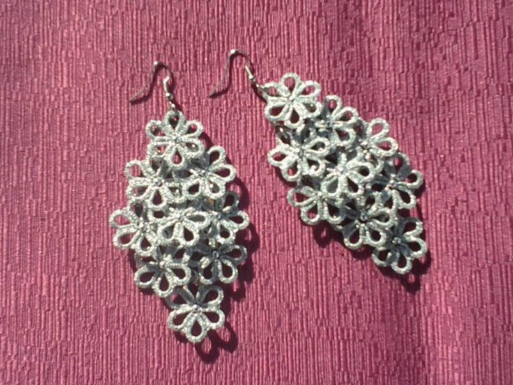 Earrings by Rita Voto