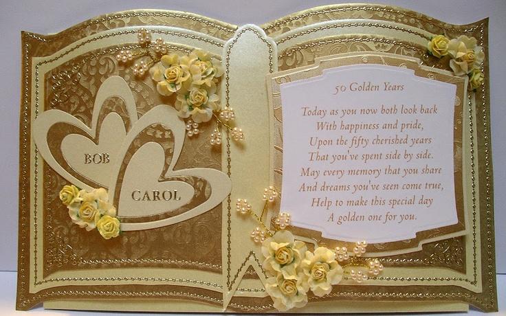Bob & Carol - golden Wedding anniversary 2010