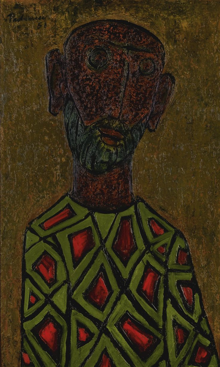 Head, Akbar Padamsee (b.1928). Sold for 134,500 GBP.