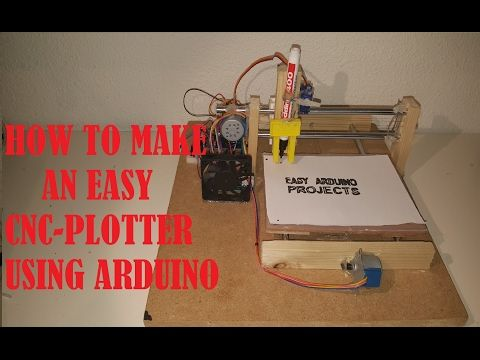 HOW TO MAKE AN EASY ARDUINO CNC PLOTTER part 1 - YouTube