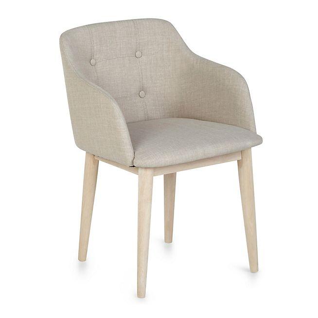 Cork Chaise de séjour capitonnée beige