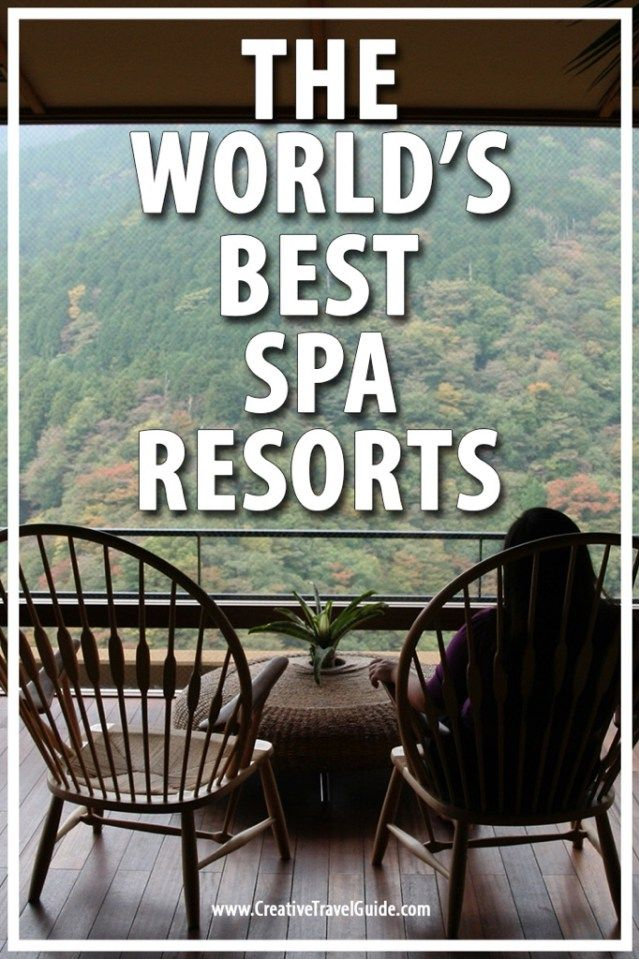 Travelling isn't just about exploring a new city or trekking around temples, it's also a time to relax - Isabel tells us about the world's best spa resorts.