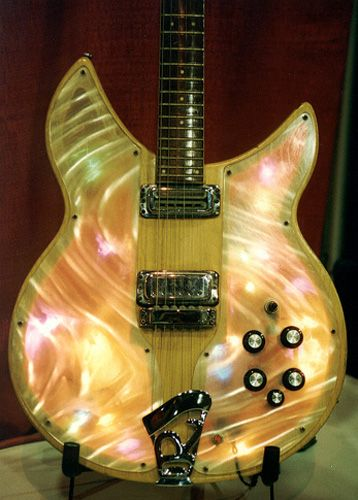 The Rickenbacker Light Show Guitar made famous by Roger McGuinn of the Byrds