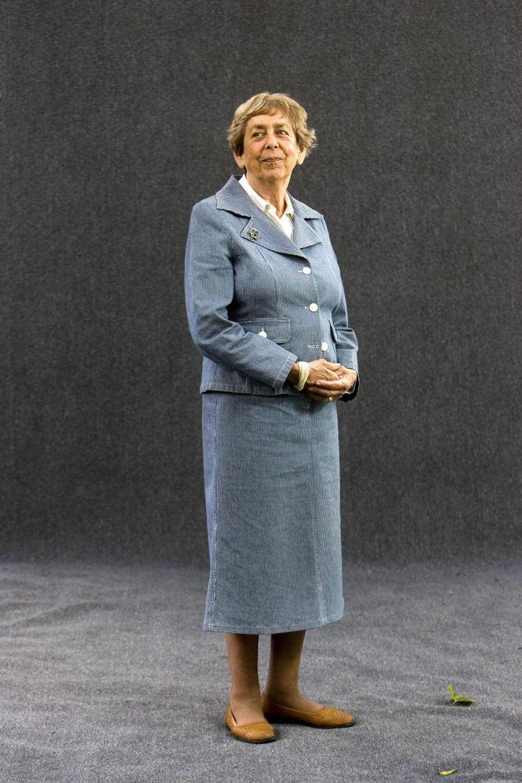 Jaqueline van Maarsen, a Dutch writer and the former best friend of Anne Frank.