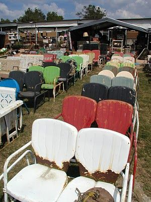 chair heaven, I once took several of the single ones home