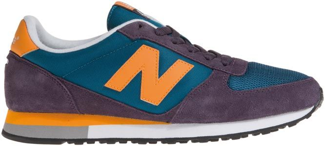 New Balance U430 Schuhe weinrot orange blau