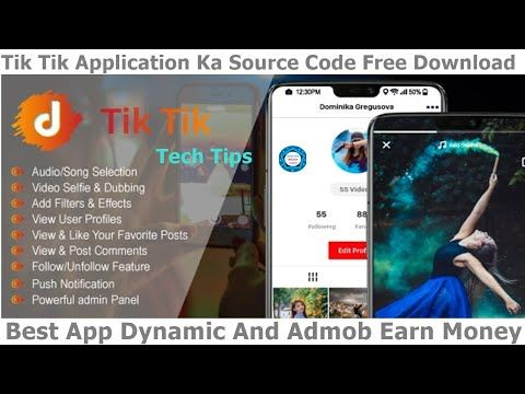 Tik Tik App Source Code Free Android Studio Like Tik Tok