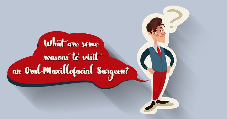 What are some reasons to visit an Oral-Maxillofacial Surgeon? •Have teeth restored by Dental Implants •Have oral surgical procedures performed in the office under anesthesia •Have a jaw, oral, or facial cyst or tumor diagnosed, removed and reconstructed. •Have your jaw aligned with orthognathic surgery •Have facial and jaw reconstruction following cancer surgery. •Have your facial bones realigned after facial trauma •Have a tooth extracted. •Have a consultation to determine whether…