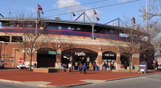 First Energy Stadium, Reading PA AA affiliate of the Philadelphia Phillies.