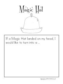 Learn and Grow Designs: NEW The Magic Hat Learning Unit and FREE download