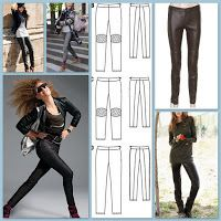 Easy Fashion Skinny Pants Free Patterm up to size 44 from www.elbauldelcosturera.com