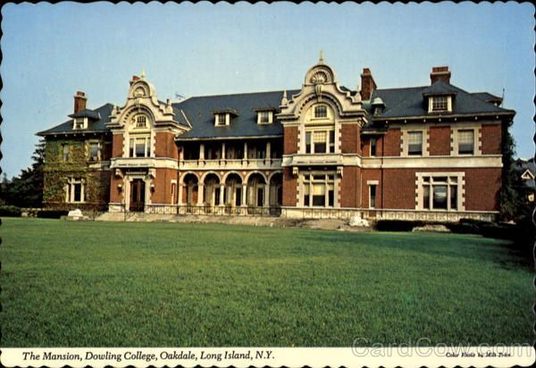 This was my playground... mysteries abound! I lived right next door:)  William K. Vanderbilt's summer residence on Long Island. 110 room mansion on the Connetquot River in Oakdale, New York. Now Dowling College.: Connetquot Rivers, Playground, Building, Age Mansions, Dowl Colleges, Long Islands, Rooms Mansions, Photo, Mansions S