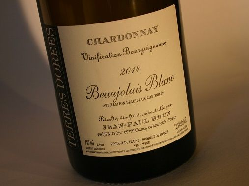 HIPPOVINO: Beaujolais, aussi des vins blancs ! - France - Beaujolais Blanc Chardonnay Jean-Paul Brun - Domaine Terres Dorées - Code SAQ 713495