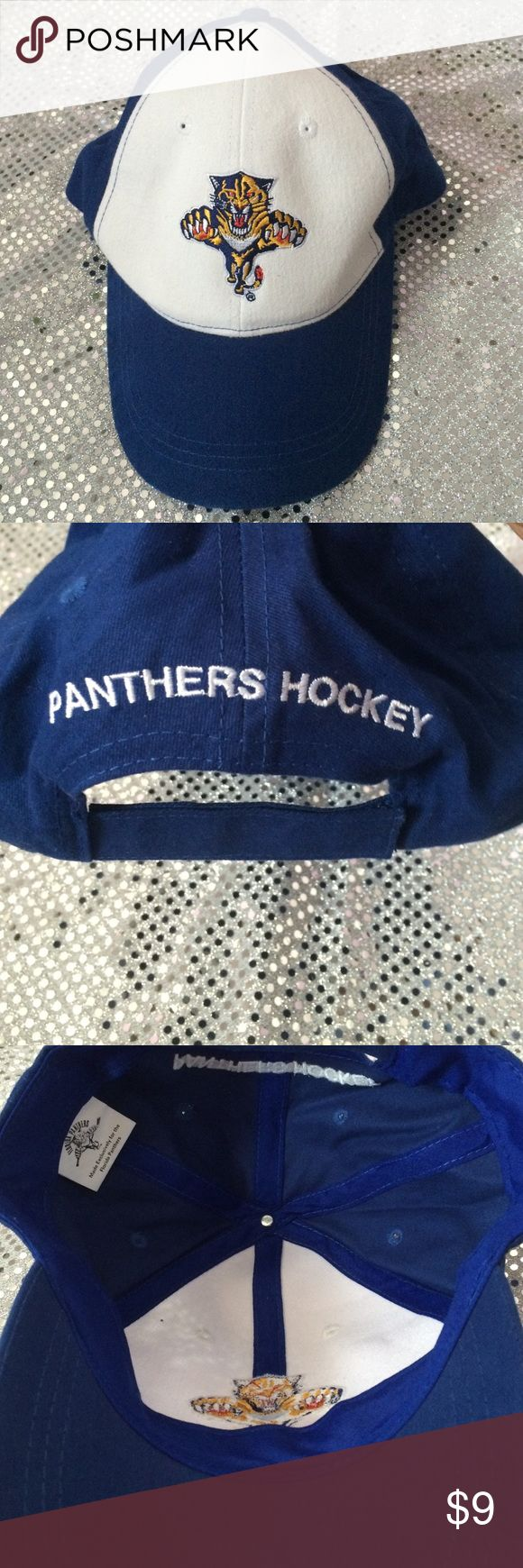 Panthers Hockey Hat Bought but never worn, it was just a souvenir. Accessories